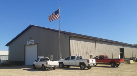 JR Services Metal Fabrication and Custom Manufacturing and Heavy Equipment Repair in New Prague, Minnesota.